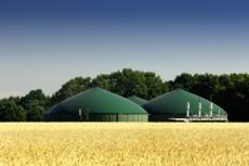 Bild einer Biogasanlage in vergleichbarer Lage